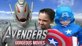 Avengers Age Of Ultron Trailer: Kids Parody