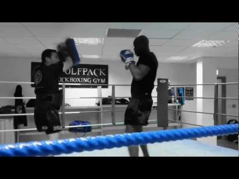 Wolfpack Kickboxing Athlone training session Image 1