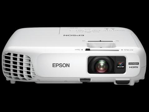 EPSON POWERLITE X24+ explicação e prática