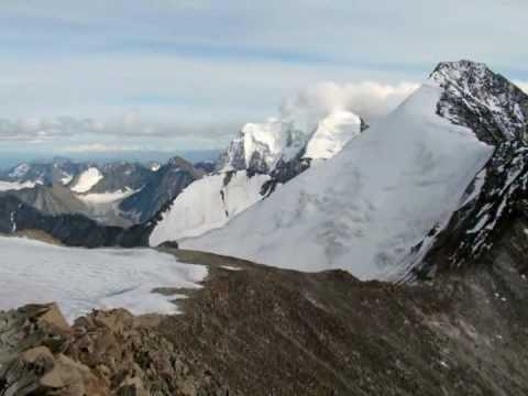 Алтай. Катуньский хребет. гора Белуха.