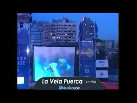 Madre Resistencia + Tv Caliente - La Vela Puerca (pepsi Music 2005) video