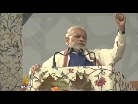 Kashmir cold to Narendra Modi's visit
