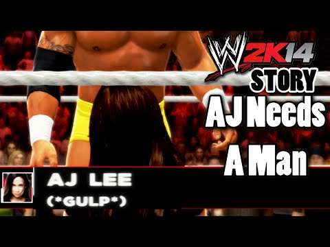 FREDDIE KRUEGER WWE2K14 Story AJ Lee's Nightmare (Part 1)