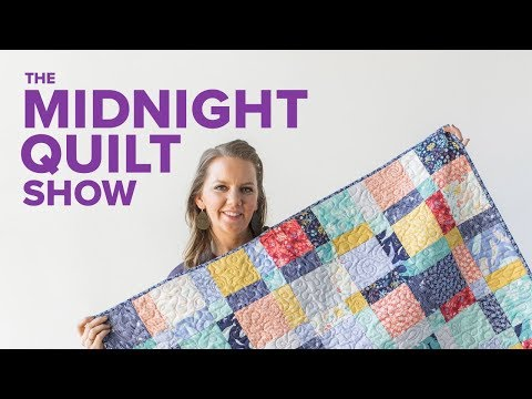 Machine Quilting 101 with Angela Walters | Midnight Quilt Show