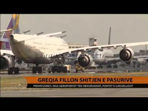 Greqia fillon shitjen e pasurive - Top Channel Albania - News - Lajme