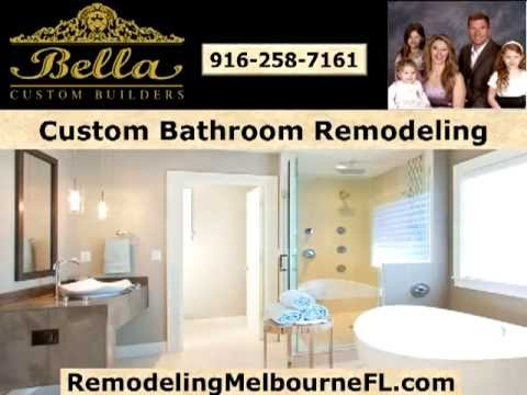 Bathroom Remodeling Melbourne, FL | 321-622-3528 | Bella Custom Builders