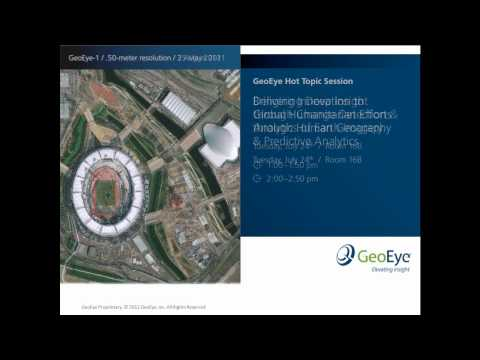Join GeoEye for 4 Hot Topic Sessions at Esri UC 2012