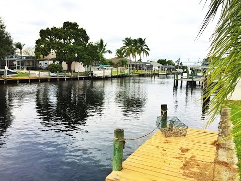 Amazing Gulf/Sailboat Access Home on Wide Canal in Fort Myers, FL