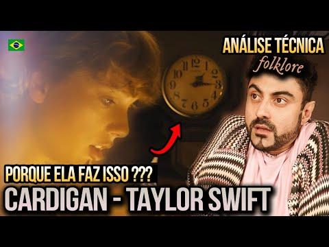 REACT de Taylor Swift - cardigan (Official Music Video)