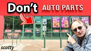 Never Go to This Auto Parts Store