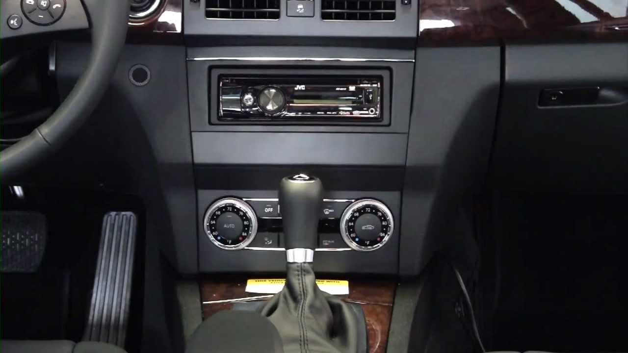 Metra MERCEDES GLK 2010 Amp UP 99 8716B Dash Kit YouTube