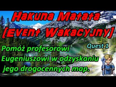 Quest 1Pomóż profesorowi Eugeniuszowi... Event Hakuna Matata...