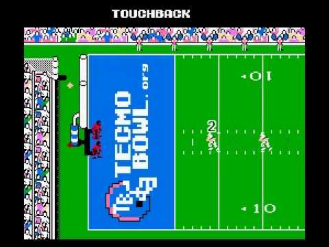 Tecmo Super Bowl 2014 (tecmobowl.org hack) - High Score Run - User video