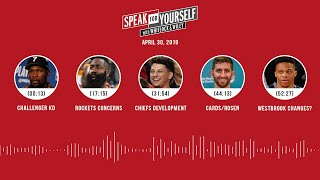 SPEAK FOR YOURSELF Audio Podcast (4.30.19) with Marcellus Wiley, Jason Whitlock | SPEAK FOR YOURSELF