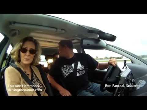 Bosch park assist and Ron Fancsal from Airport high school on Driving the Nation