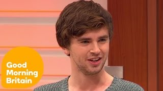 Freddie Highmore On Playing Norman Bates | Good Morning Britain