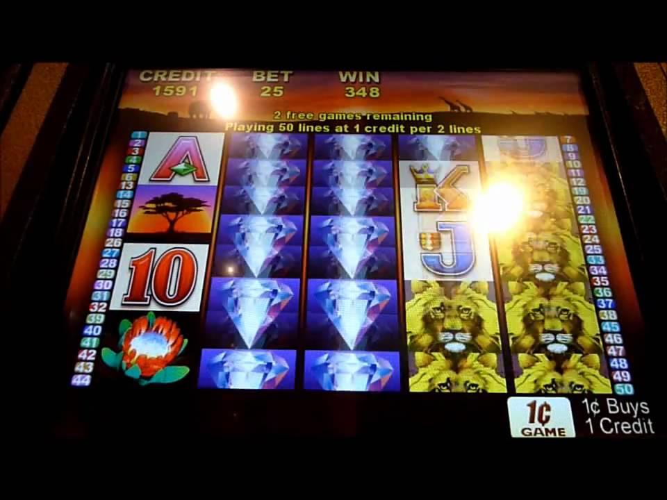 50 lions slot machine bonus win queenslots youtube. Black Bedroom Furniture Sets. Home Design Ideas