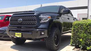 """2018 Toyota Tundra 3"""" Lift and 35"""" Tires with BMC"""