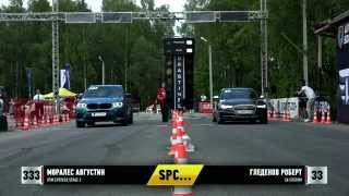 BMW X5M F85 Evotech vs AUDI S6 Unlim 500+ 30.05.2015