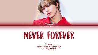 Taemin 39 Never Forever 39 Color Coded Han Rom SubespaÑol