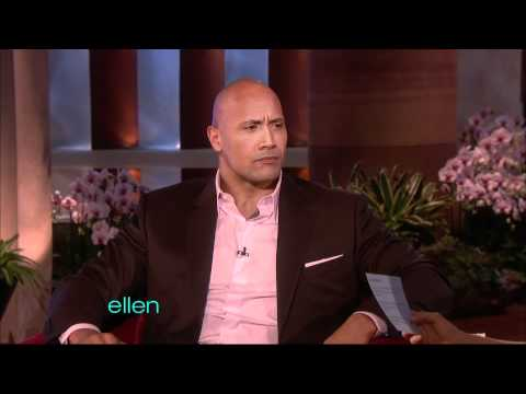 Dwayne Johnson on Ellen (2011)