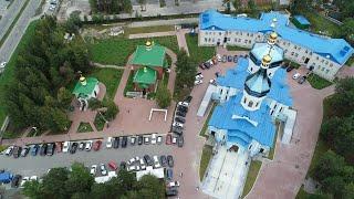 """Освящение храма сургутского женского монастыря  в честь иконы Божией Матери """"Умиление"""""""