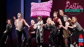 """Cats Spoofs West Side Story's """"Jet Song"""" - Easter Bonnet Competition 2017"""