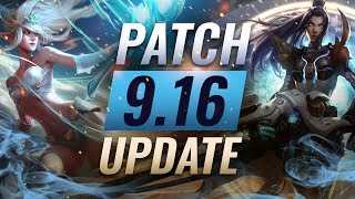 NEW UPDATE: Best Champions TIER LIST – League of Legends Patch 9.16