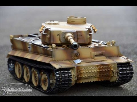 PRODUKTVORSTELLUNG REVIEW TAIGEN HENG LONG RC PANZER TIGER 1 PLATIN EDITION 2.4 GHZ LICMAS TANK 1:16