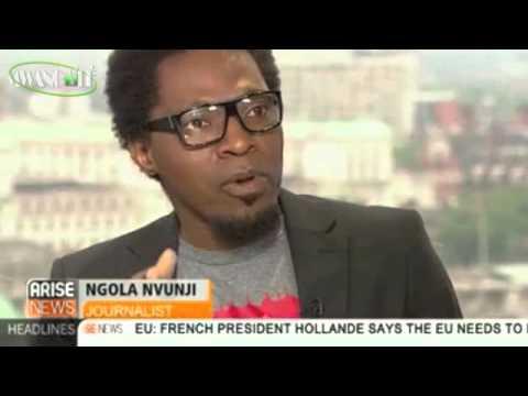 A policia angolana cometeu um grande genocídio no