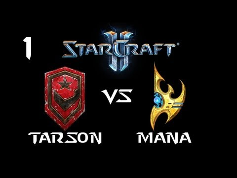 StarCraft 2 - Tarson [T] vs MaNa [P] G1 (Commentary)