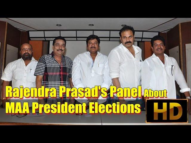 Rajendra Prasad's Panel About MAA President Elections