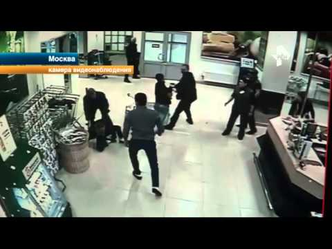 Массовой дракой обернулась попытка охранников одного из столичных супермаркетов с поличным поймать в