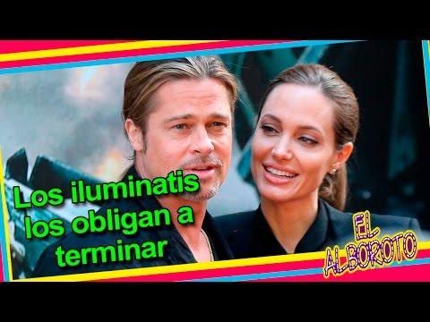 Se Divorcio Por Que Iluminatis La Obligaron Angelina Jolie