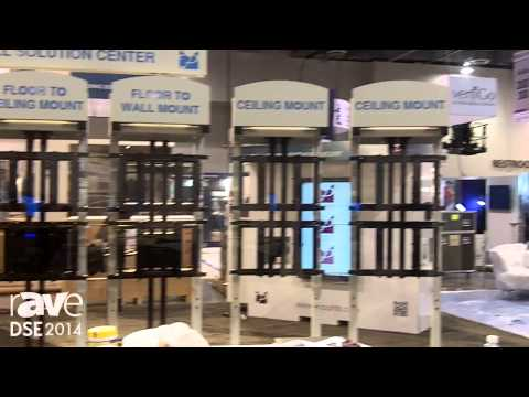 DSE 2014: Premier Mounts Shows rAVe Video Wall Solutions Center to rAVe During Set-up
