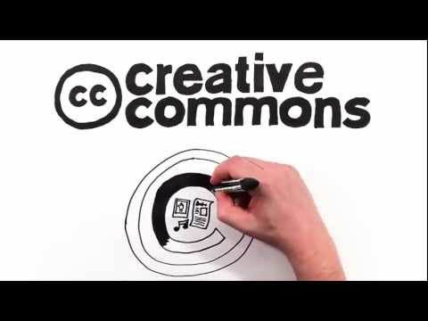 Creative Commons License and how it helps us share digital content. Music Videos