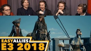 Kingdom Hearts III (PS Briefing) - Easy Allies Reactions - E3 2018
