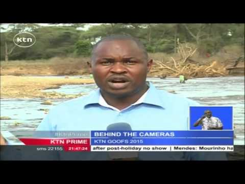 Hilarious: KTN Reporters caught on - 2015