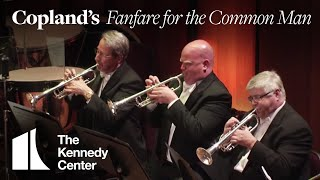 Copland Fanfare For The Common Man National Symphony Orchestra