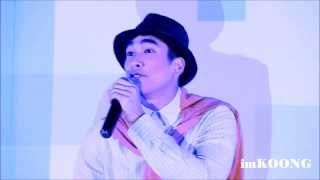 "Nadech singing ""เพลงหยุด"" @ Exclusive Mini Concert BAUSCH+LOMB [2013.08.17]"