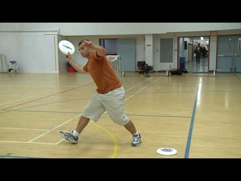Ultimate Frisbee Drill - Throwing into a Soccer Net