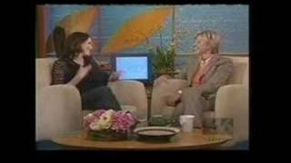 Jorja Fox on Ellen DeGeneres Show