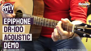 Epiphone DR-100 Acoustic Guitar Demo - Richie Stopforth @ PMT