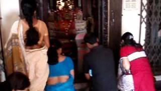 Puja at Hindu Temple, Dhaka, Bangladesh
