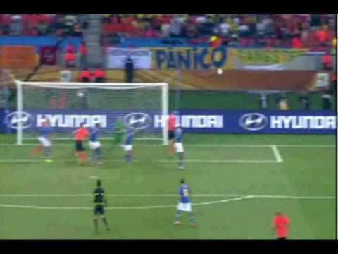 Netherlands vs Brazil FIFA World Cup 2010 Highlights