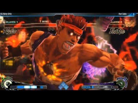 USFIV EVO 2014: SAKO (Evil Ryu) vs RICKY ORTIZ (Rufus) Top 8