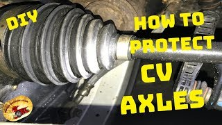 How To Protect & STOP AXLE BOOTS FROM EVER CRACKING!