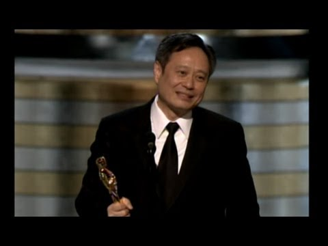 Ang Lee ‪winning The Oscar® For Directing brokeback Mountain video