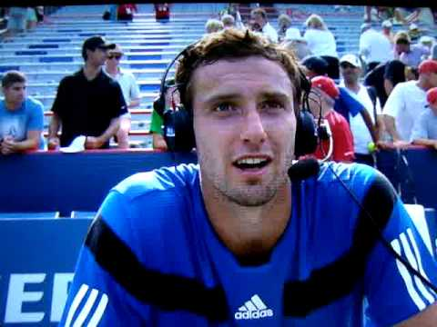 Ernests Gulbis shows disdain for Marcus Buckland