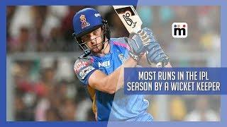 Most runs in an IPL season by a Wicket Keeper | Mijaaj Sports News